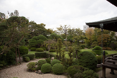 View into the Suikeien Garden 邃渓園