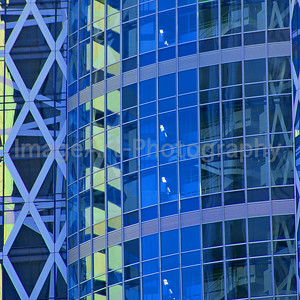Cocoon Building Reflections