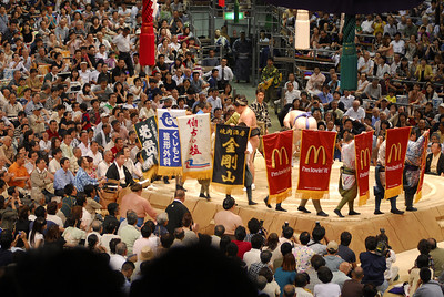 Some of the more prominent and popular wrestlers receive sponsorship.The sponsors banners are paraded round the ring before each of the wrestlers bouts.A variety of companies and firms provide sponsorship including the hamburger chain McDonalds.