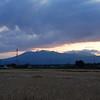 the other sunset near our house.Nasushiobara,Tochigi,Japan
