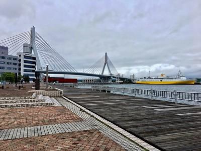 Aomori Bay Bridge & Hakkoda-Maru