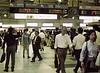 Night Commuters, II, Shinagawa Station, Tokyo, Japan