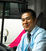 Bus Driver, Ready to Roll, Hakone, Japan