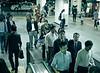 Night Commuters, I, Shinagawa Station, Tokyo, Japan