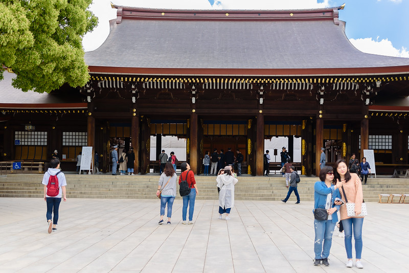 Visiting a Temple