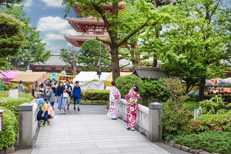 Taking Photos Around the Temple