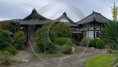 Tokyo Nippori Old Town Temple Autumn Viewpoint Panorama City Fine Art Foto Winter Stock - 013854 - 19-10-2013 - 11406x6487 Pixel
