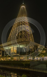 Skytree Tokyo City Night Light Show Sky Tower Nature Sunshine Barn Images - 024065 - 23-05-2016 - 6739x11114 Pixel