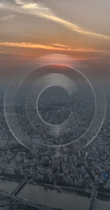 Skytree Tokyo City View Sunset Sky Tower Attraction Order Fine Art Photographer - 024088 - 23-05-2016 - 7375x14053 Pixel