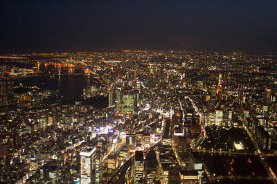 Otemachi, Shinbashi, Tokyo Tower, Rainbow Bridge