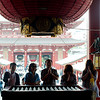 Prayers at Sensō-ji temple