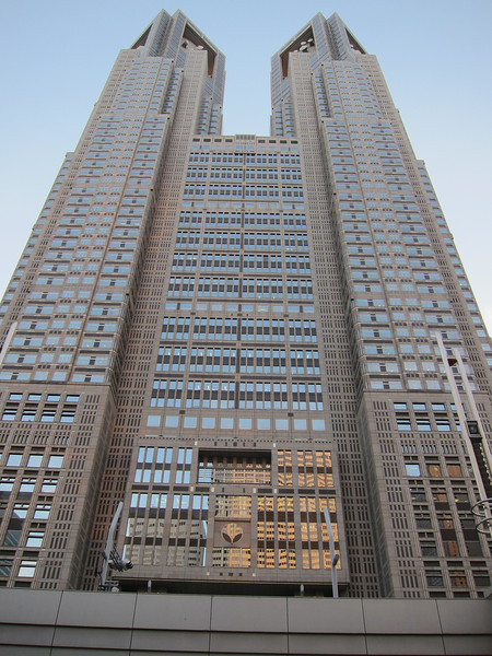 I thought I wouldn't be impressed with Shinjuku's skyscrapers, but I really was.