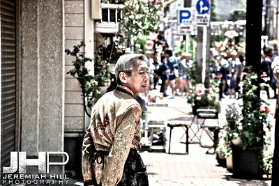 """Sanja Matsuri - Old Man #2"", Tokyo, Japan, 2010 Print JAP16-660V2"
