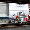 View from our Saitama metro stop (Nishi-Kawaguchi)