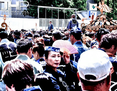 """Sanja Matsuri - Woman in Crowd"", Tokyo, Japan, 2010 Print JAP16-819"