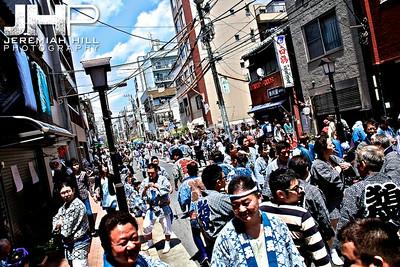 """Sanja Matsuri - Crowd #1"", Tokyo, Japan, 2010 Print JAP16-706"