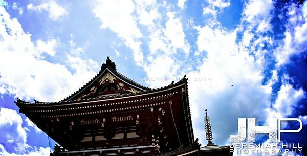 """""""Asakusa Temple #1"""", Tokyo, Japan, 2010 Print JAP16-836"""