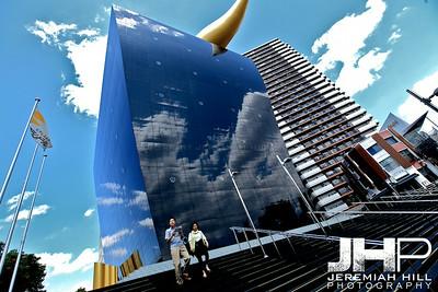 """Asahi Flame Building #1"", Tokyo, Japan, 2010 Print JAP16-1081"