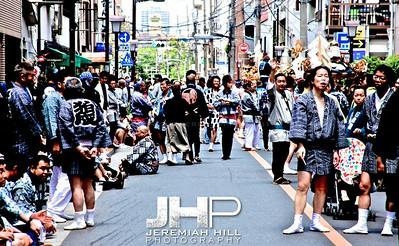 """Sanja Matsuri - Crowd #1"", Tokyo, Japan, 2010 Print JAP16-754"