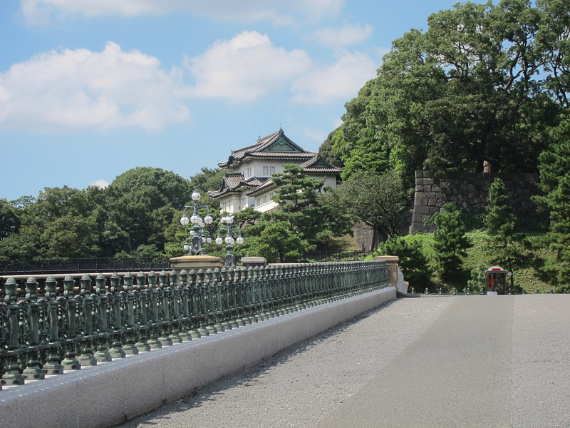 As close as you can get to the imperial palace (at least if you're me).
