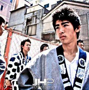 """The Boys of Sanja Matsuri"", Tokyo, Japan, 2010 Print JAP16-684"