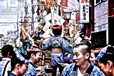 """Sanja Matsuri - Crowd #3"", Tokyo, Japan, 2010 Print JAP16-748"