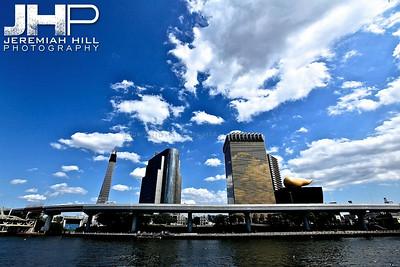 """Sumida Skyline"", Tokyo, Japan, 2010 Print JAP16-117"