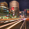 Trails in Shinjuku