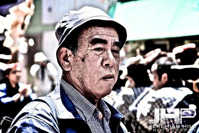 """""""Sanja Matsuri - Old Man #1"""", Tokyo, Japan, 2010 Print JAP16-642"""