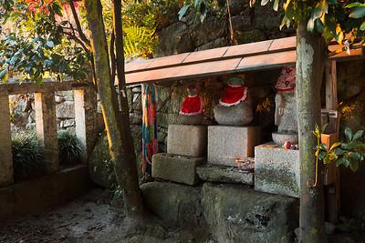Chomeiji temple in Ohachiman, Shiga Prefecture, Japan