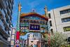 The Goodwill Gate in Chinatown, Yokohama, Japan, Asia.