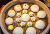 Close up of Japanese street food in Chinatown, Yokohama, Japan, Asia.