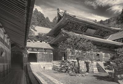 Eiheiji Monastery. Central Court.
