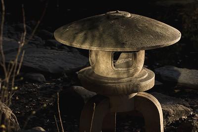 Japanese Stone Lantern Garden Decoration