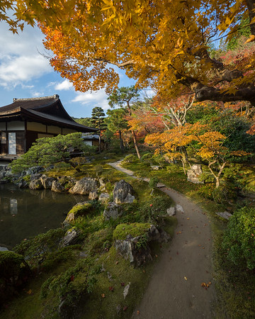 Autumn at Ginkaku-ji