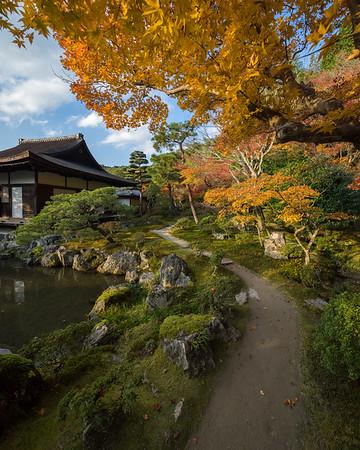 Autumn at Ginkaku-ji