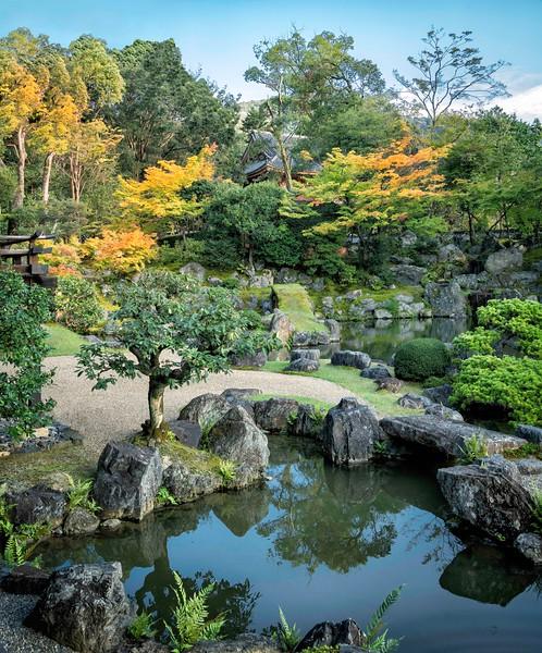 Early Autumn at the Daigoji Temple.