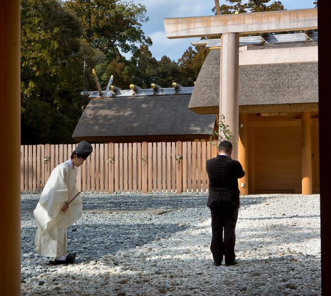 Ceremony at Ise Jingu