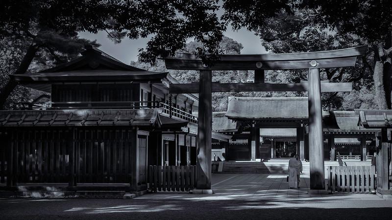Meiji Jingu Shrine; Tokyo; Japan