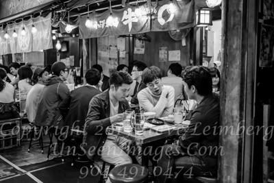 Dinning Alley - B&W Copyright 2017 Steve Leimberg UnSeenImages Com L1200530