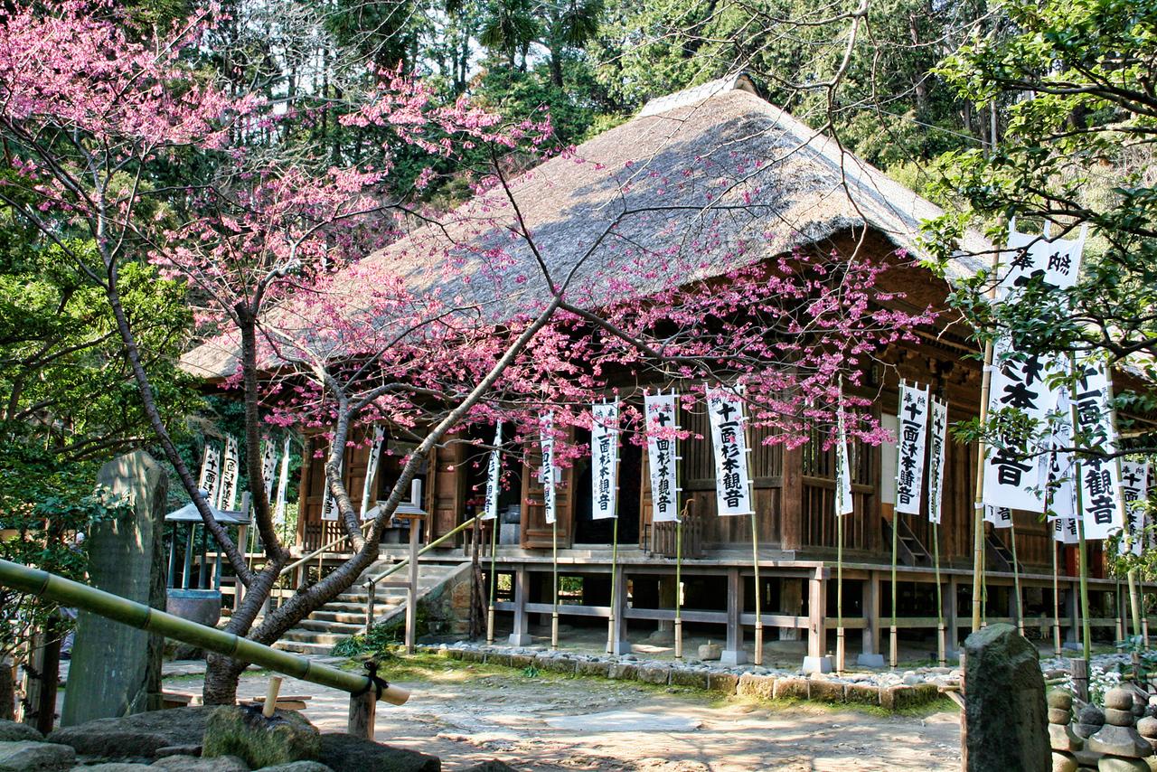 "Sugimoto Dera, The Oldest Temple in Kamakura 23""x16"""