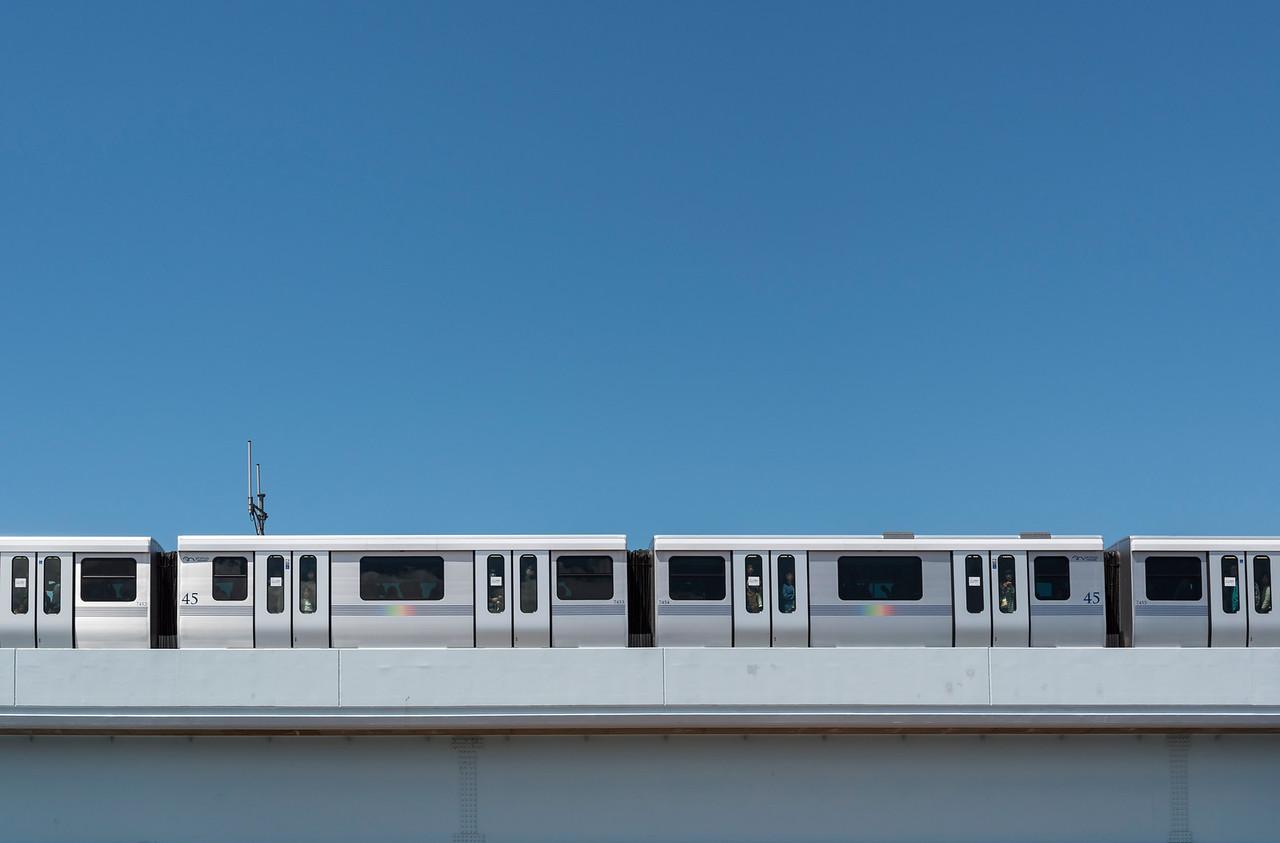 Yurikamome train, Odaiba
