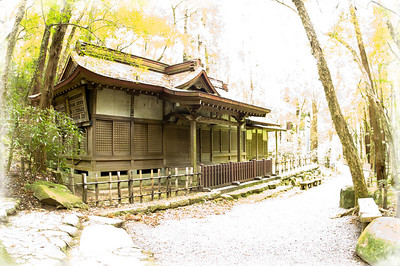 Old Japanese home.