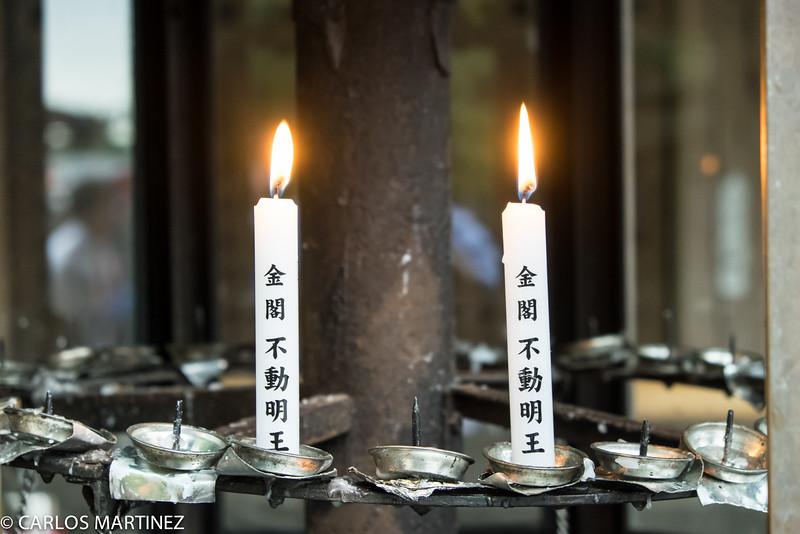 Make a wish at Kinkaku-ji