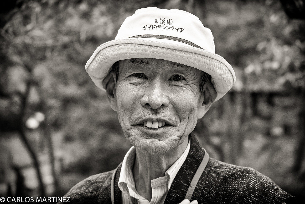 "Old happy man, he liked my Fujifilm XE-2 Camera, which he told me in nice English, ""Very good camera"""