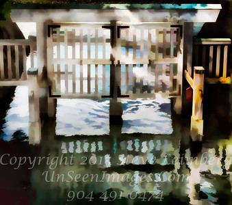 Watergate - PAINTING - Copyright 2017 Steve Leimberg UnSeenImages Com _DSF1002