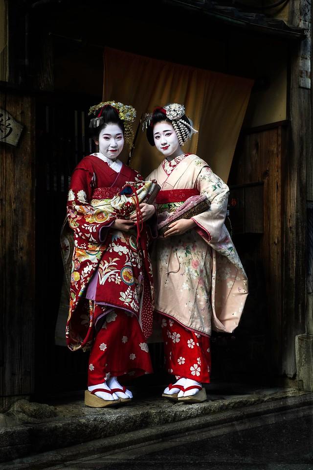 Maiko; Gijon; Kyoto; Japan