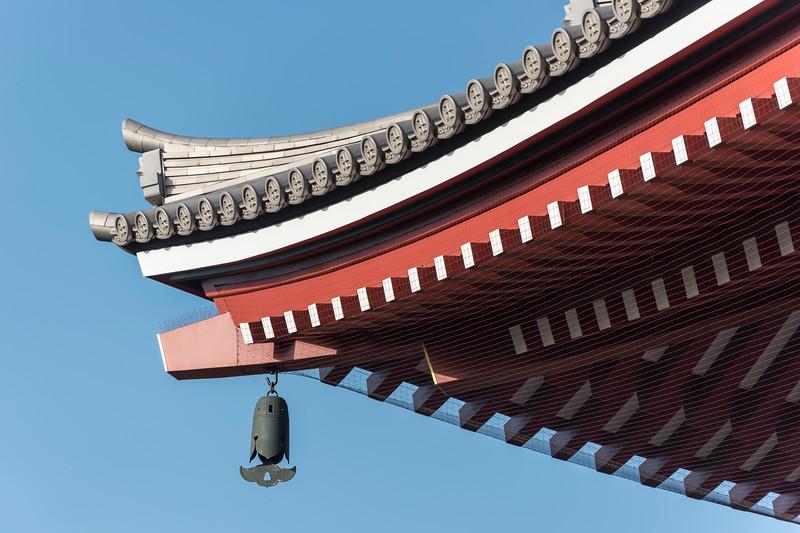 Senso-ji Temple Roof, Asakusa