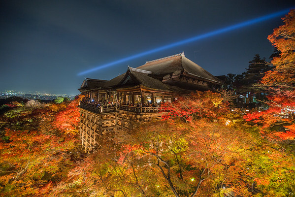 Kiyomizu-dera at Night • Kyoto, Japan