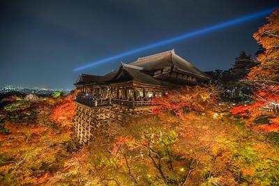 Kiyomizu-dera at Night • Kyoto, Japan